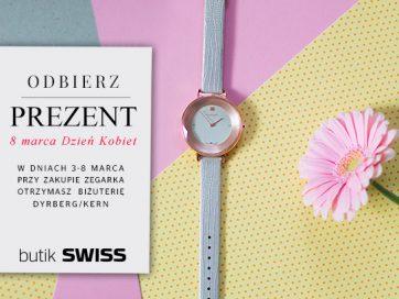 Świętuj Dzień Kobiet w butiku Swiss