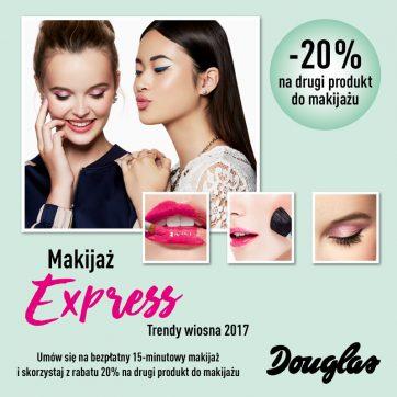 Makijaż ekspress – trendy wiosna 2017