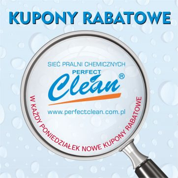 Kupony rabatowe do pralni Perfect Clean
