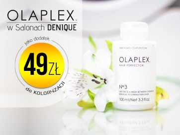 Kuracja Olaplex w promocyjnej cenie w Denique