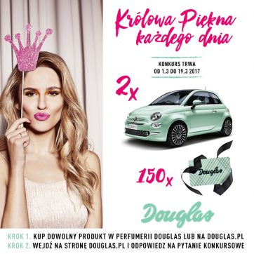 Konkurs na Dzień Kobiet w perfumerii Douglas