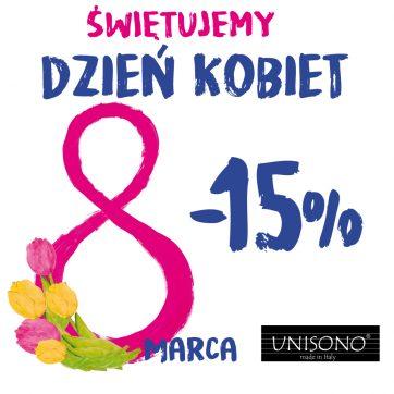 -15% dla wszystkich Pań!