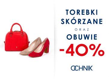 Buty i torebki skórzane -40%!