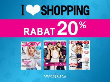 Zapraszamy do udziału w akcji rabatowej I love shopping!