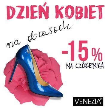 Świętuj Dzień Kobiet z Venezia!