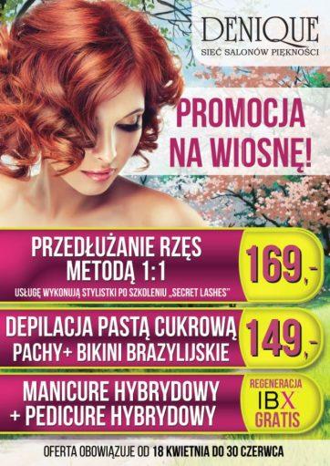 Wiosenna promocja w Denique