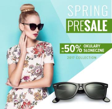 Spring PreSale w salonach Twoje Soczewki – Super rabaty na okulary przeciwsłoneczne