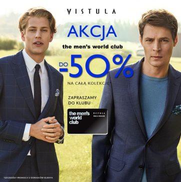 W Vistuli zrobisz zakupy z rabatem do -50%!