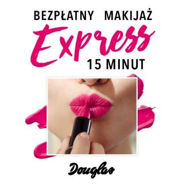Makijaż express w perfumerii Douglas