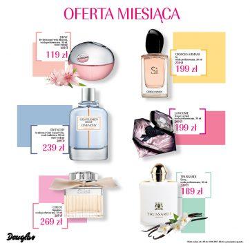 Oferta Miesiąca w perfumeriach Douglas – Maj 2017