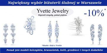 Promocja ślubna w Yvette Jewelry