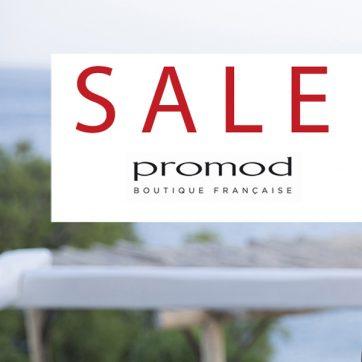 Letnie wyprzedaże w Promod Boutique Française do -50%!