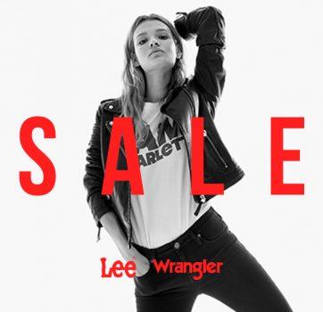 Sale w Lee Wrangler