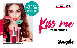 Kiss me with colors!