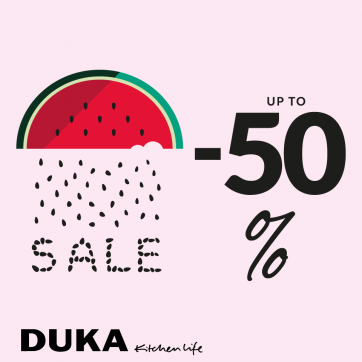 Sale up to 50% w DUKA!