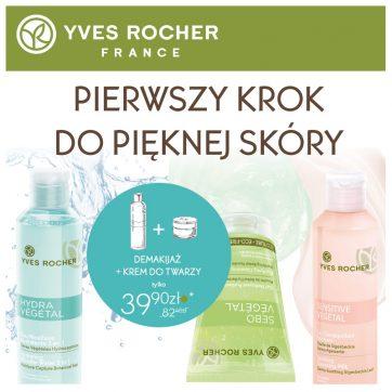 Pierwszy krok do pięknej skóry w Yves Rocher