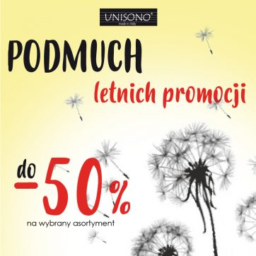 Do -50% w UNISONO!