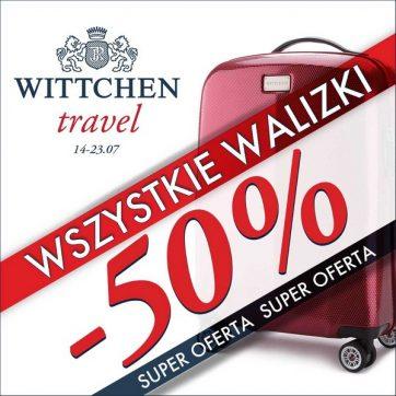 Wszystkie walizki -50% w Wittchen