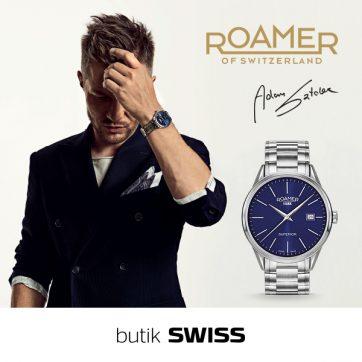 ROAMER to doskonale skomponowane dzieło szwajcarskich mistrzów.