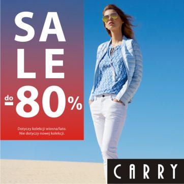 """Wyprzedaż """"SALE do -80%"""" w CARRY"""