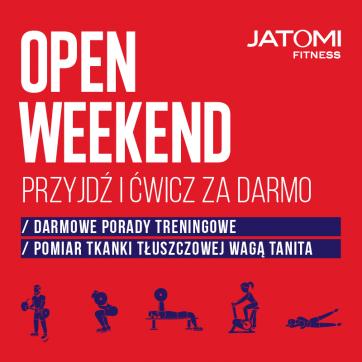 Open weekend w Jatomi Fitness