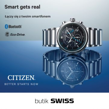 Zupełnie nowy smartwatch od CITIZEN