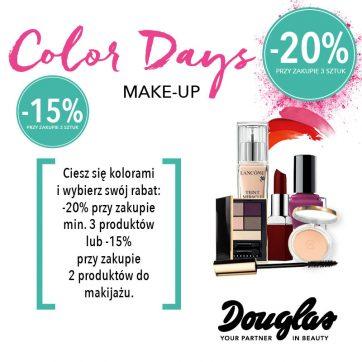 Color days make-up w Douglas