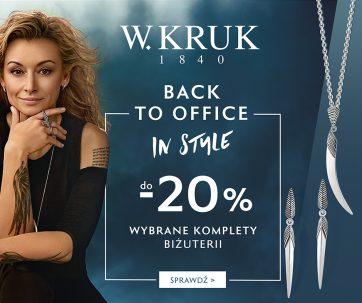 Wróć do biura w dobrym stylu – wybierz komplety biżuterii od W.KRUK