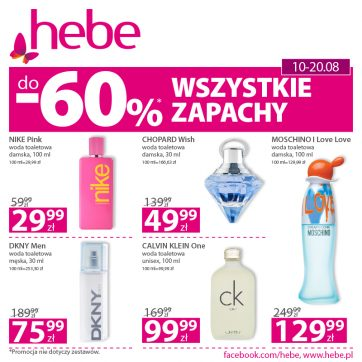 Oferta promocyjna drogerii Hebe