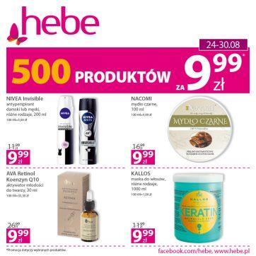 500 produktów za 9.99*