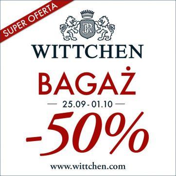 Wielka promocja – bagaż -50%!