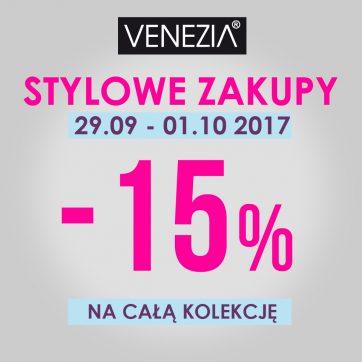 Stylowe zakupy w VENEZIA