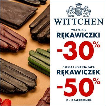Wszystkie rękawiczki -30%  w Wittchen