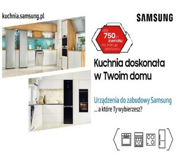 Kup sprzęt do zabudowy i odbierz zwrot do 750 zł
