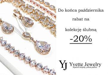 Biżuteria ślubna w Yvette Jewelry -20%