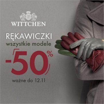 RĘKAWICZKI -50% w WITTCHEN