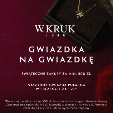 Gwiazdka na Gwiazdkę od W.KRUK