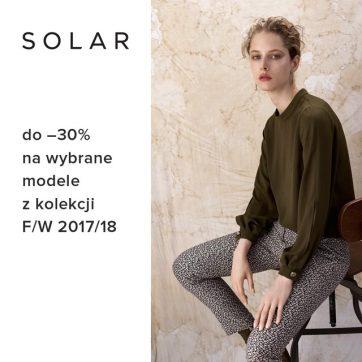 Wyprzedaż w salonie Solar