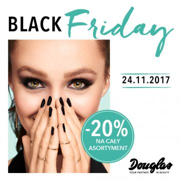 Black Friday w perfumeriach Douglas!