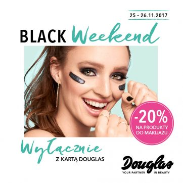 Black Weekend w perfumeriach Douglas!