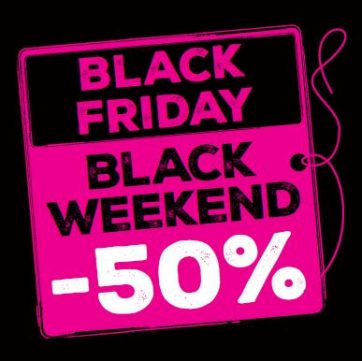 Hebe – oferta Black Friday/ Black Weekend -50%