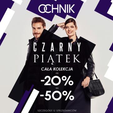 Czarny Piątek w salonie OCHNIK: cała kolekcja do -50%!