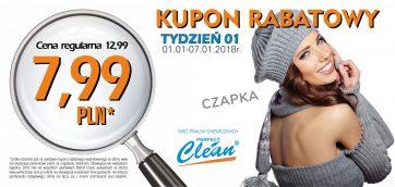 Kupony rabatowe w Pralni Perfect Clean!