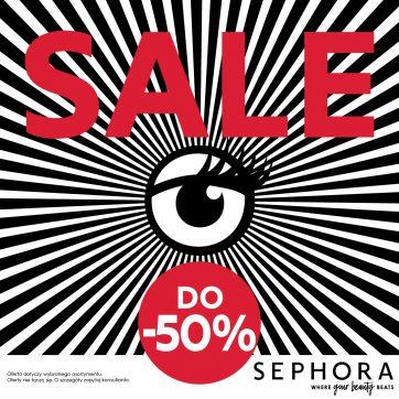 WYPRZEDAŻ W SEPHORA – Setki produktów nawet do 50% taniej*!