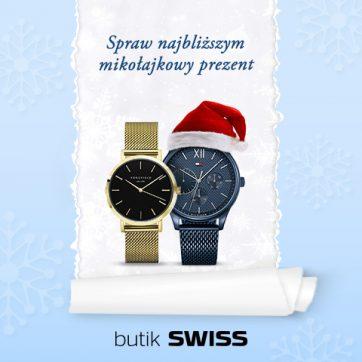 Wyjątkowe Mikołajkowe prezenty w SWISS