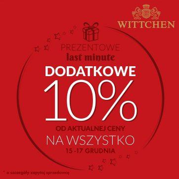 Prezentowe Last minute w Wittchen!