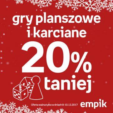 -20% na gry planszowe i karciane!