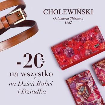 Promocja w Cholewiński