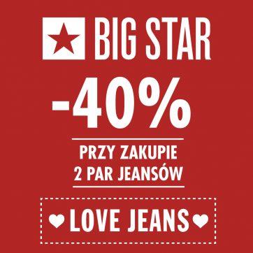 Promocja w sklepie Big Star