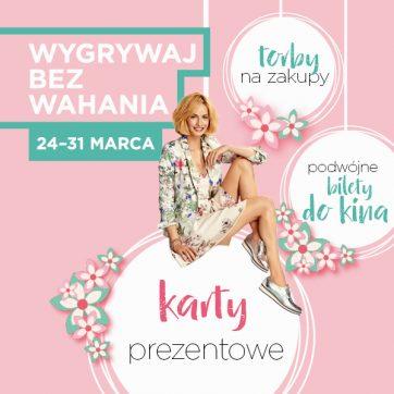 """""""Wygrywaj bez wahania"""" – wielkanocny konkurs w Atrium Targówek!"""